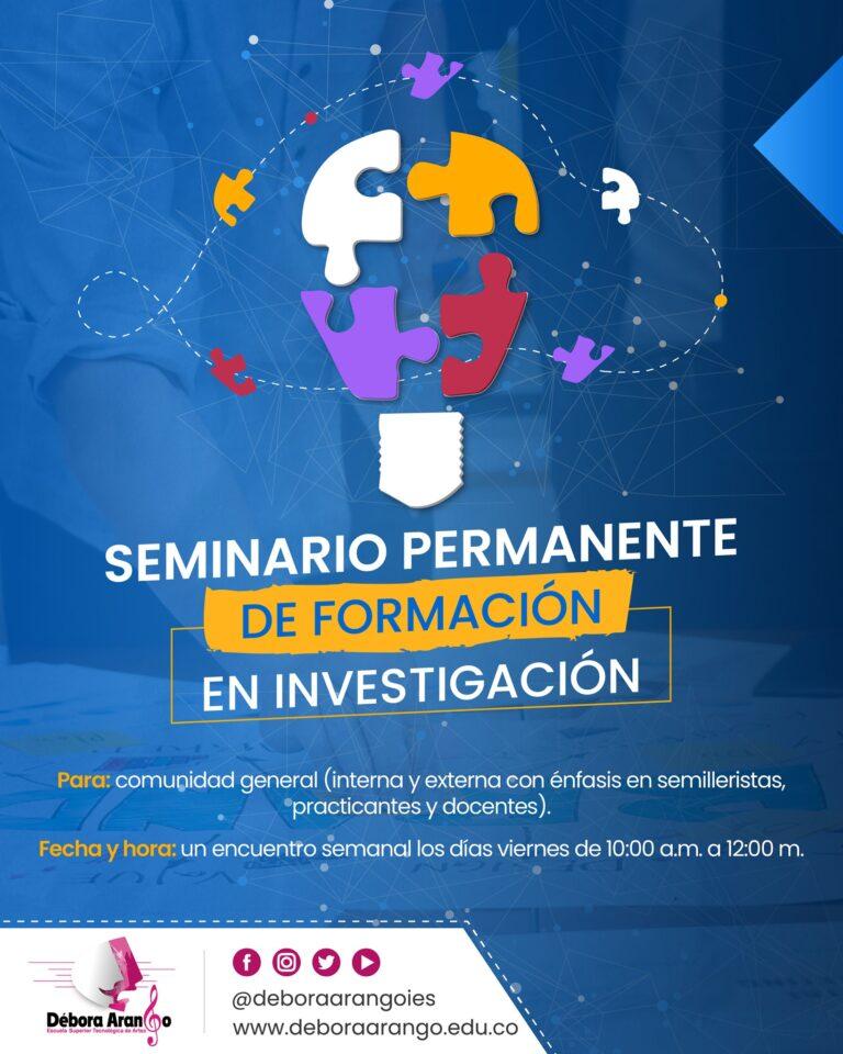 Seminario Permanente de Formación en Investigación