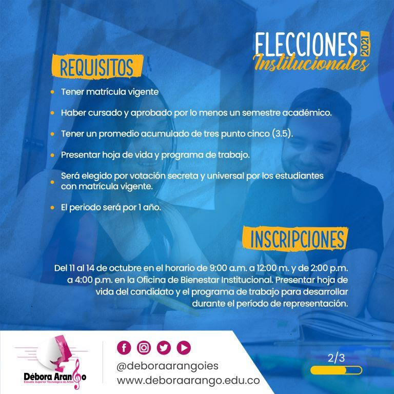 Elección Consejo Directivo - 2
