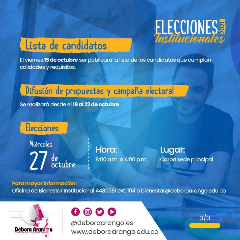 Elección Consejo Directivo - 3